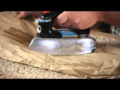 How to Get Candle Wax Out of Wool Carpet : Carpet & Flooring