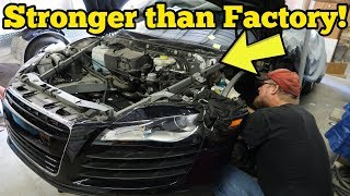 I Repaired My Totaled Audi R8