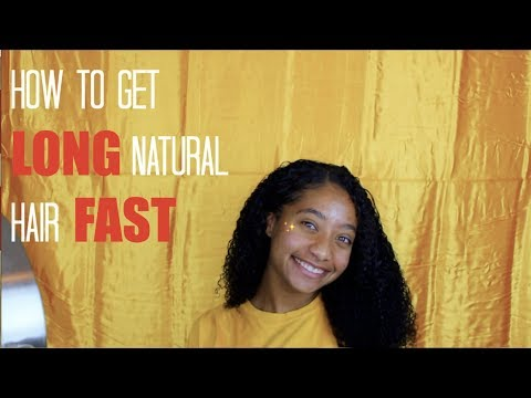 How to Get LONG Natural Hair FAST (ft. BetterLength)  Tatyana Celeste ❤︎
