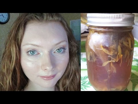 DIY Herbal Facial Toner | ACNE | REDNESS