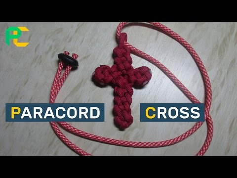 How to make Paracord Cross