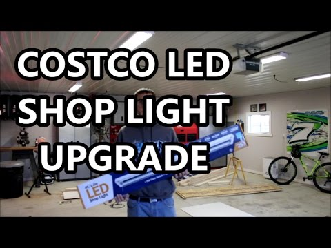 Upgraded to Costco LED Shop Lights in my garage!
