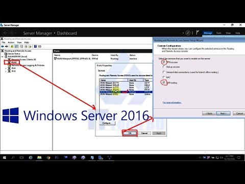 How to Define Remote Access Port and Policy In Windows Server 2016 - 45