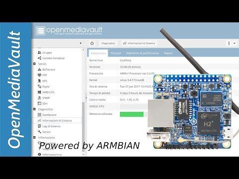 Installare facilmente OMV 3 sulla Orange Pi Zero...e su tante altre board supportate da Armbian