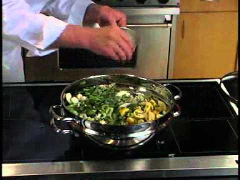Steamed Garlic Vegetables