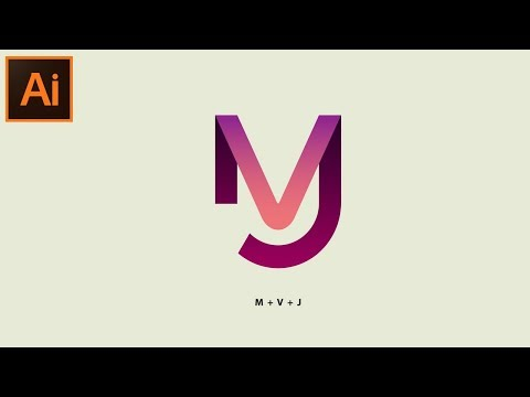 Adobe Illustrator CC Tutorial - How to Make a Beautiful Modern Logo