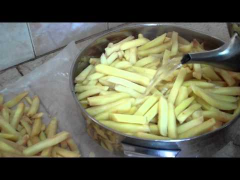 SOP - Using Boiled Water for few Seconds on Cut Fries
