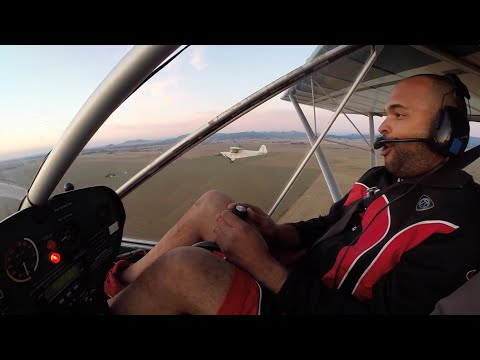 My First Time Piloting an Ultralight (2-Person Aircraft)