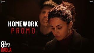 Homework | Badla | Dialogue Promo | Amitabh | Taapsee | Sujoy Ghosh