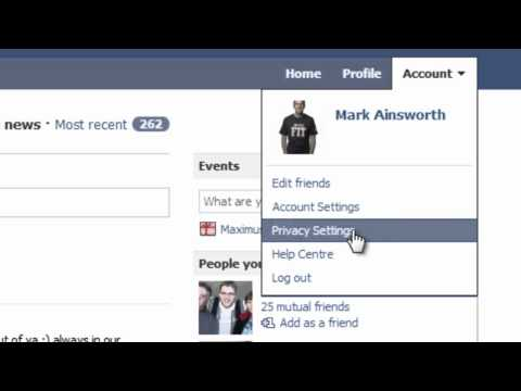 How to create lists on facebook and how to block friends from seeing things on your profile.