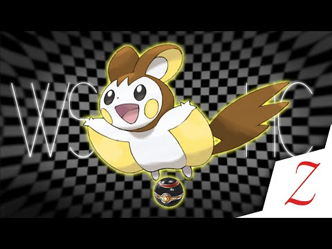 [WSHC] Live Shiny Emolga after 9977 shaking patches! (BW2)
