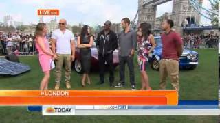 TODAY Vin Diesel Fast & Furious 6 cast