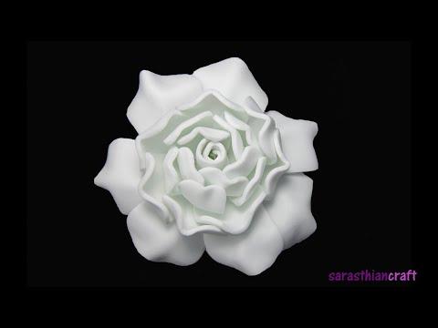 How To Make Foam Gardenia (Style 1)