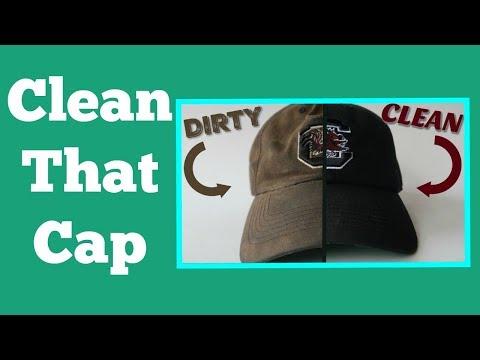 DIY | How To Clean A Dirty Baseball Cap