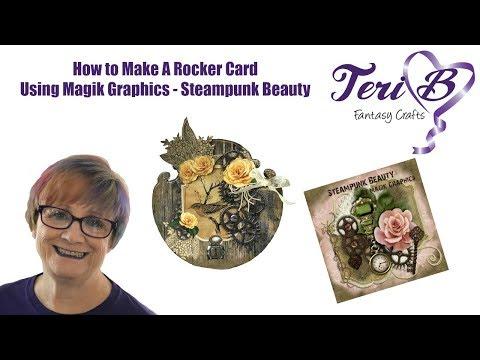 Easy to make rocker card