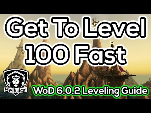 Warlords of Draenor Leveling Guide - Tips, Tricks & Rare / Treasure Maps!