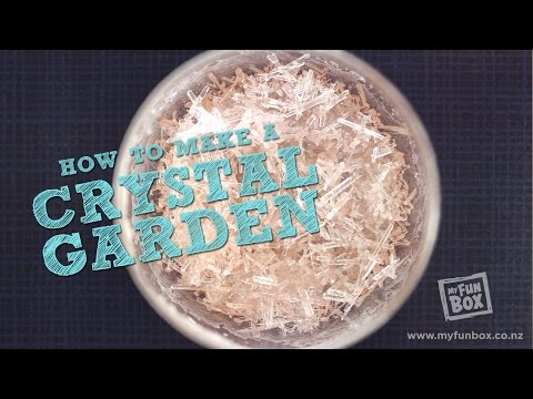 How To Make A Crystal Garden