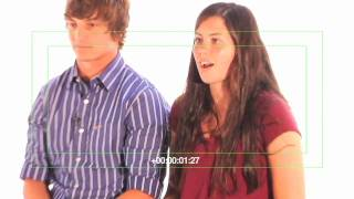 Paige and Todd: High School Blood Drive