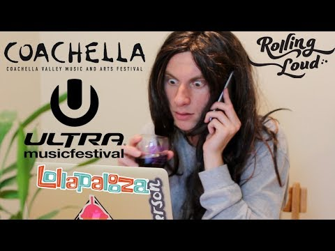 How Girls Buy Festival Tickets