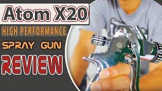 ATOM X20 High Performance Spray Gun Review