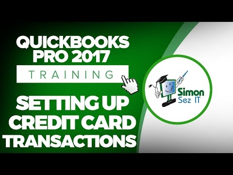 How to Enter Credit Card Transactions in QuickBooks Pro 2017