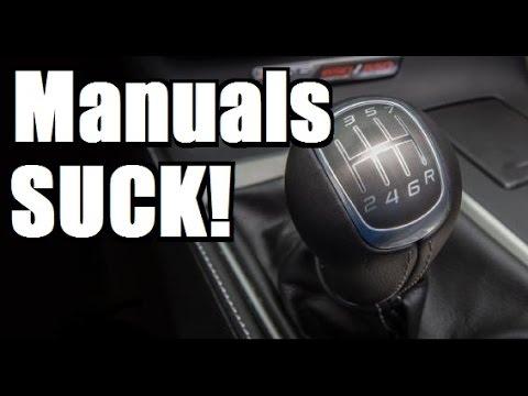 5 Reasons Why Driving a Manual Sucks!!