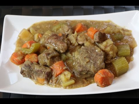 How to Make Beef Stew - Easy Crockpot Beef Stew Recipe
