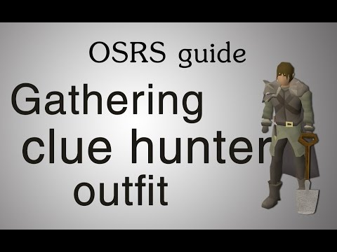 [OSRS] Gathering the clue hunter outfit