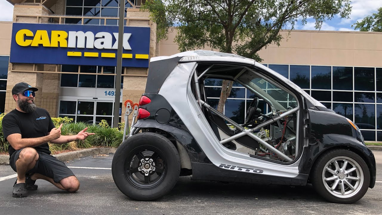 Taking My 600hp Turbo K-Series SmartCar To Carmax...Their Offer was Hilarious.