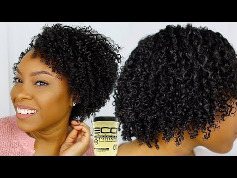 SUPER Defined Wash and Go Using Eco Styler Gel (No Flaking) | Volume & Definition on DAY 1!!