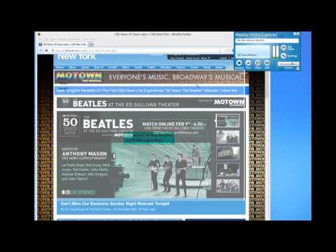 Capturing the Beatles' Live 50th Anniversary Webcast Special