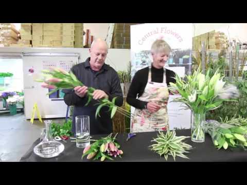 Vase Preparation and Flower Care | Central Flowers