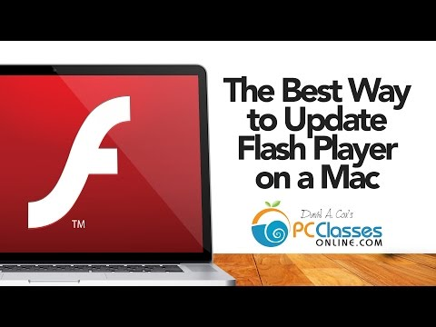 The Best Way to Update Flash Player (On A Mac)
