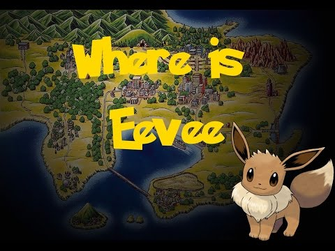 Where Is: Eevee (Gift Pokemon) (Pokemon Fire Red/Leaf Green)