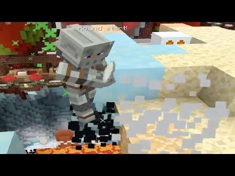 Minecraft PS4 Survival Episode 46 - Mini Game Snowballs