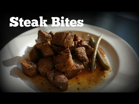 Steak Bites ready in 10 minutes!