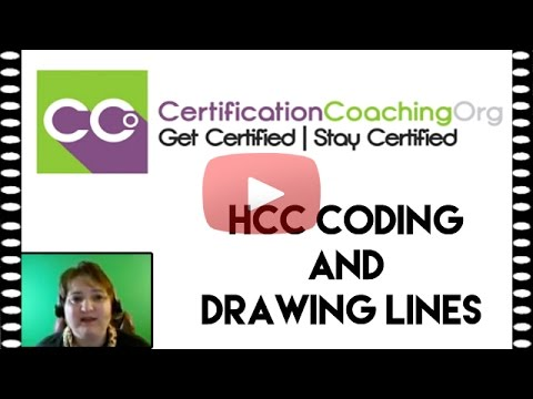 HCC Coding and Drawing Lines | HCC Coding Tutorial