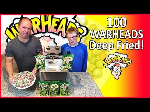 100 Warheads ... DEEP FRIED!! : Crude Brothers