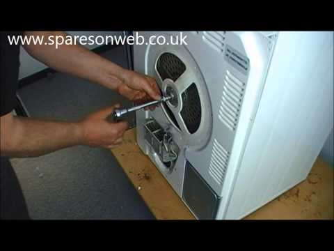 DIY video: How do you swap belt on the tumble dryer? Here's how. . .