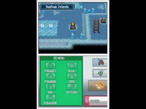 Pokemon HG/SS Walkthrough Episode 94: Seafoam Islands