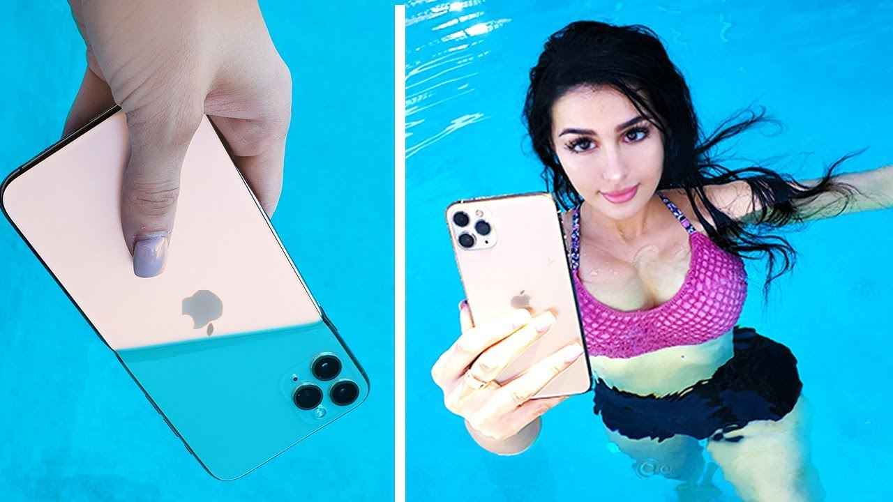 iPhone 11 Pro Max UNDERWATER REVIEW + UNBOXING