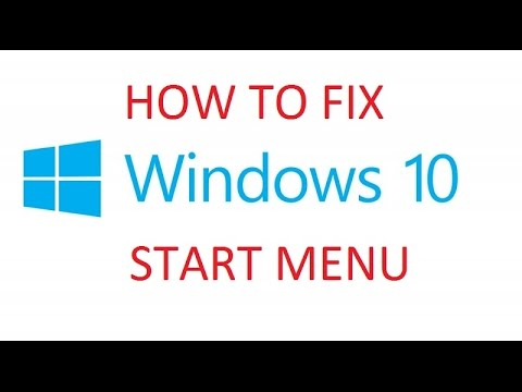 Windows 10 -Reset to Fix Start Menu and Cortana Search Not Working