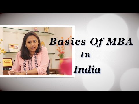 MBA in India know the basics