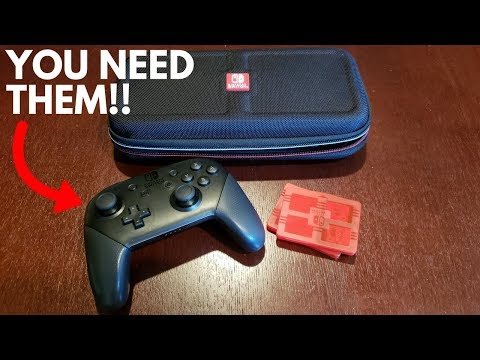 These Are MUST HAVE Nintendo Switch Accessories!!