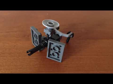 LEGO UNSC: AEI-486H HEAVY MACHINE GUN (TURRET)