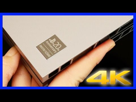 Unboxing the PS4 20th Anniversary Edition in the Gold Standard of video, 4K Ultra HD