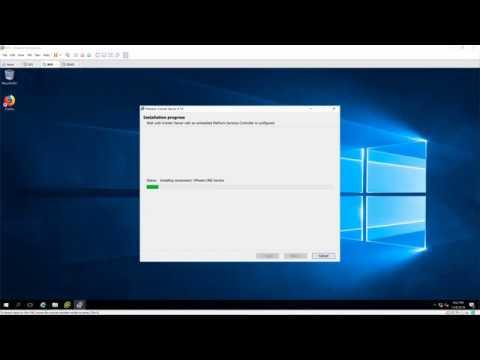 Install ESXi and VCernter Server 6.7