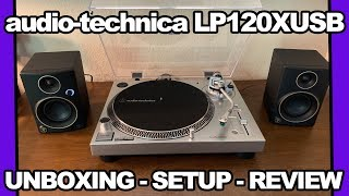 Audio-Technica AT-LP120X Turntable Overview + Setup Guide