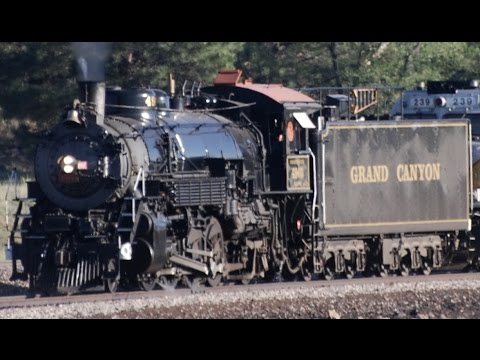 Riding the Grand Canyon Railway with GCRY #4960 + bonus shots