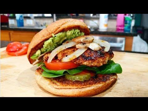 Best Juicy Healthy Turkey Burger Recipe